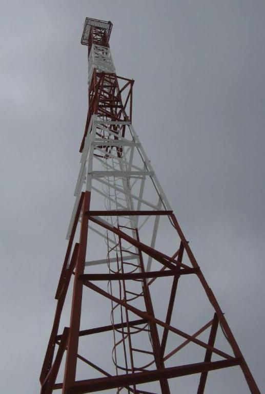 проектирование антенно-мачтовых сооружений_башня